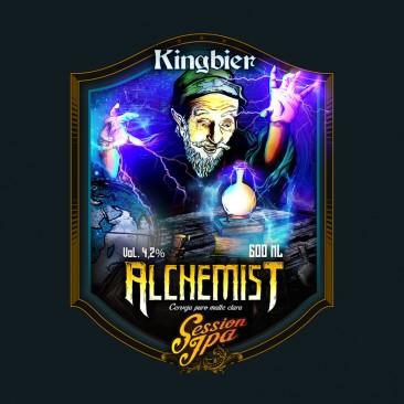King Bier – Label Art