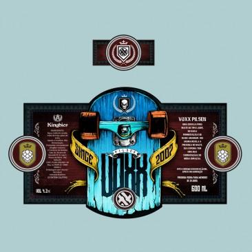 Voxx Beer Label