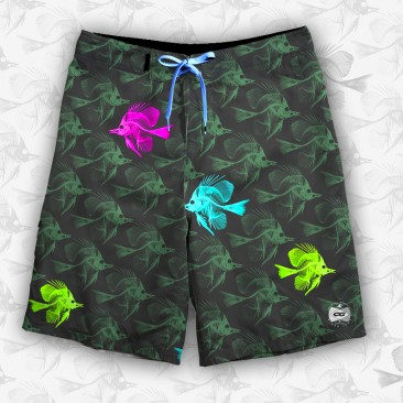Cristal Graffiti Boardshort