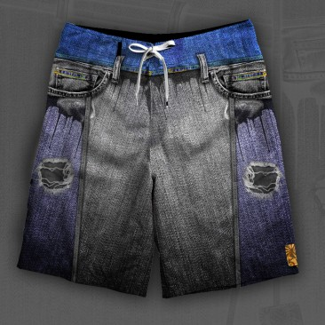boardshort Jeans Simulation