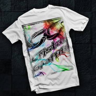 T-shirt Cristal Graffiti
